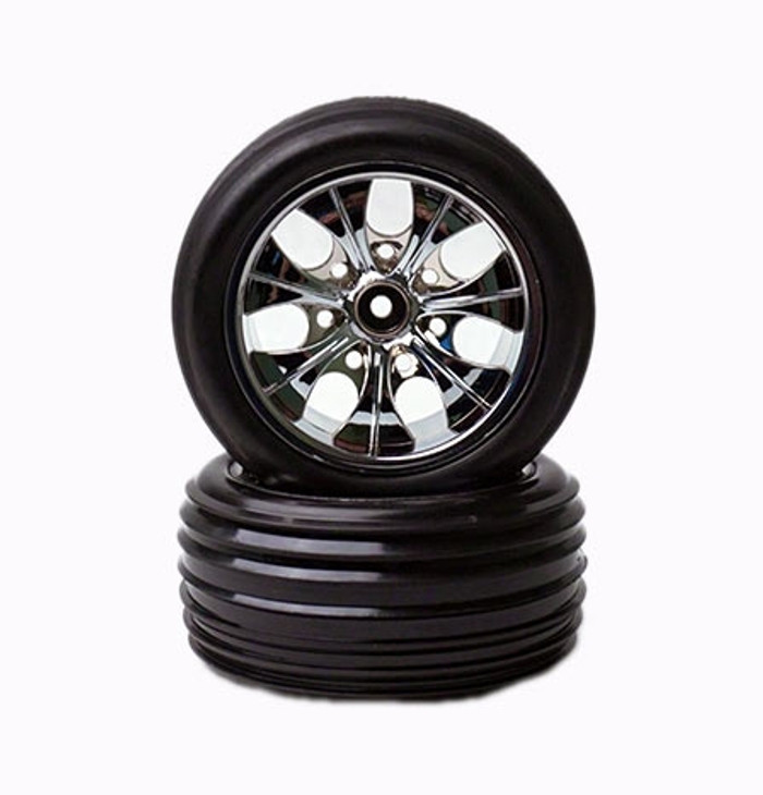 Rage R10ST Stadium Truck Front Tire and Wheel Set, C1049