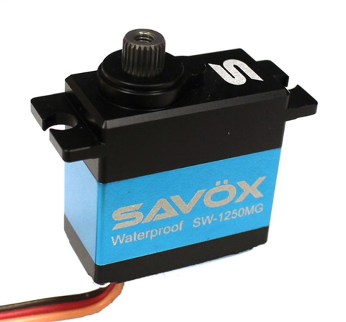 Savox SW-1250MG Waterproof Premium Digital Mini Servo for Traxxas 1/16