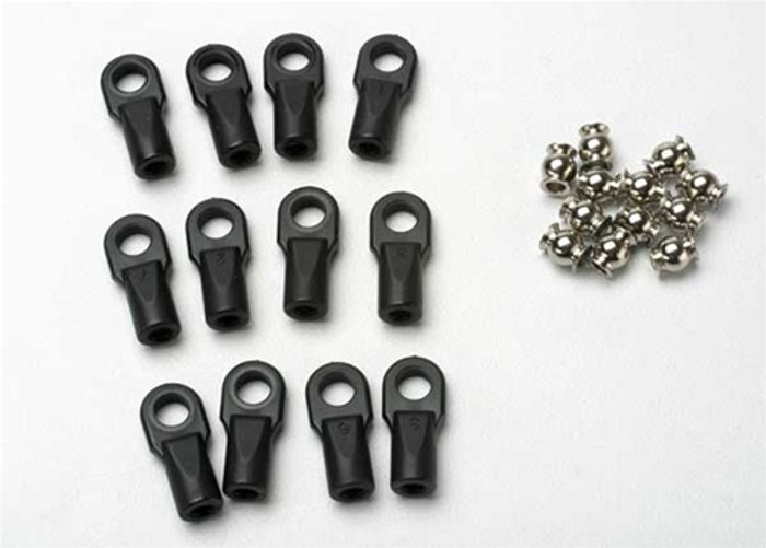 Traxxas Large Rod Ends with hollow balls (12), 5347