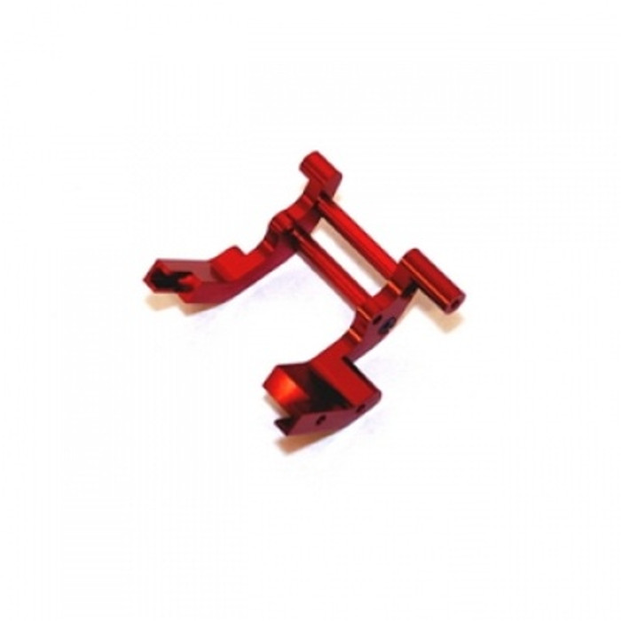 ST Racing Concepts Aluminum Rear Motor Guard for Traxxas Trucks (Red), 3677R