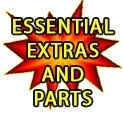 Essential Extras and Parts