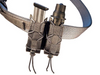 HSGI Belt Mounted Double Pistol Taco - (Black)