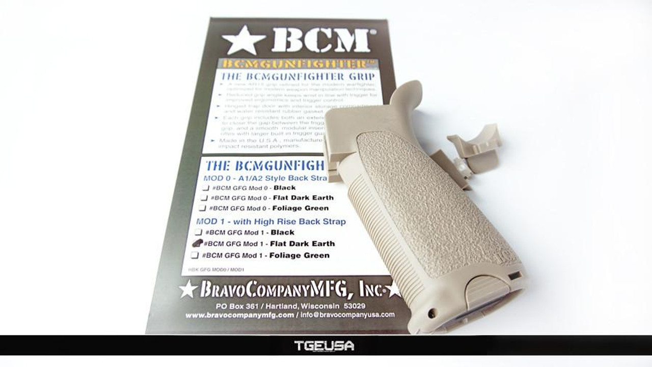 BCM Gunfighter Pistol Grip - MOD 1 (FDE)