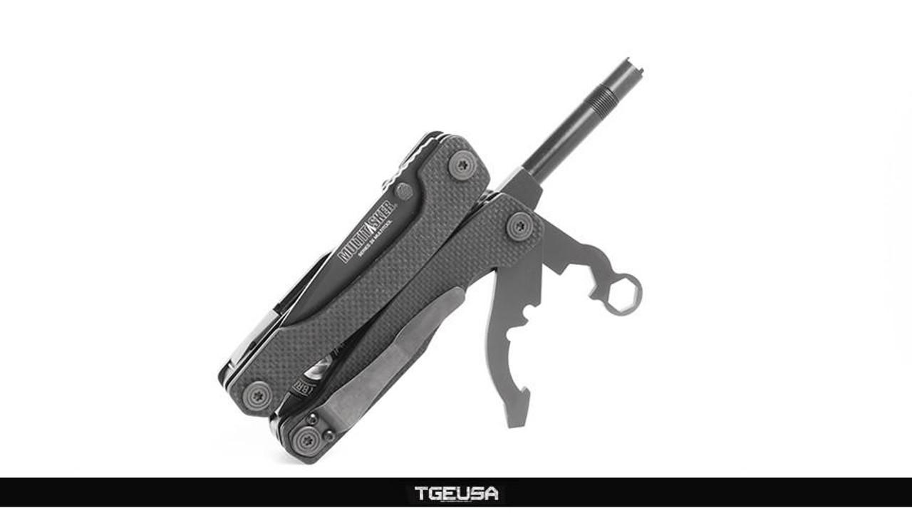 Multitasker Series 3X - Plain Edge / Black G10