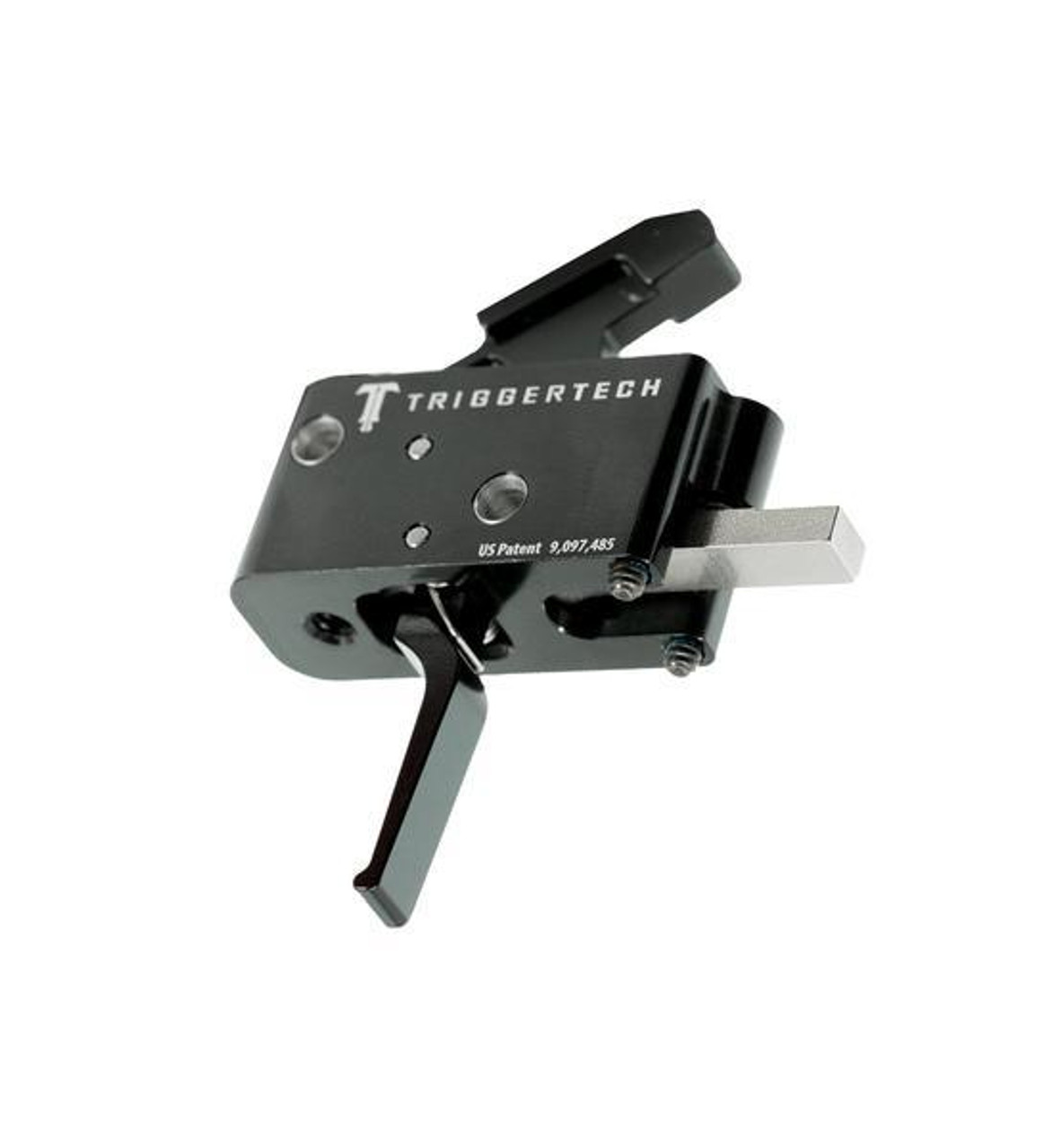 TriggerTech Adaptable AR Primary Trigger - Flat / Black PVD