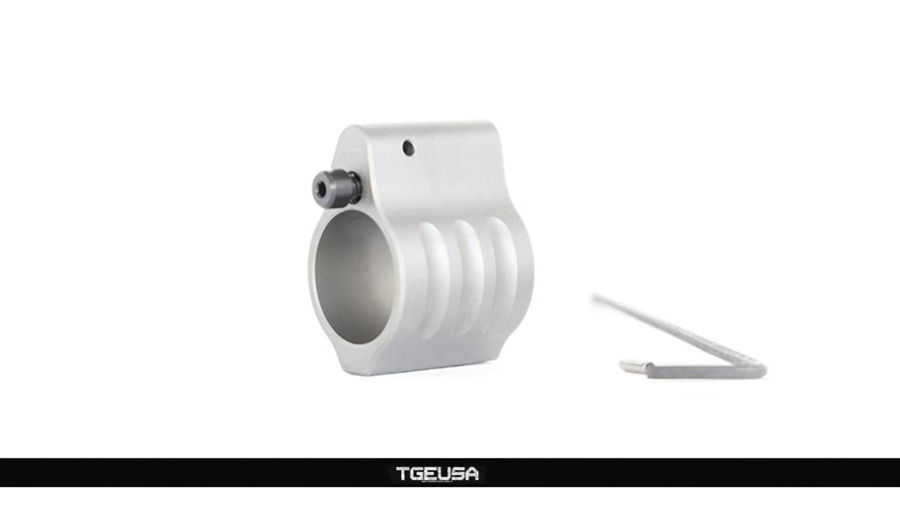 SLR Rifleworks Sentry 7 Titanium Gas Block - Adjustable / Set Screw