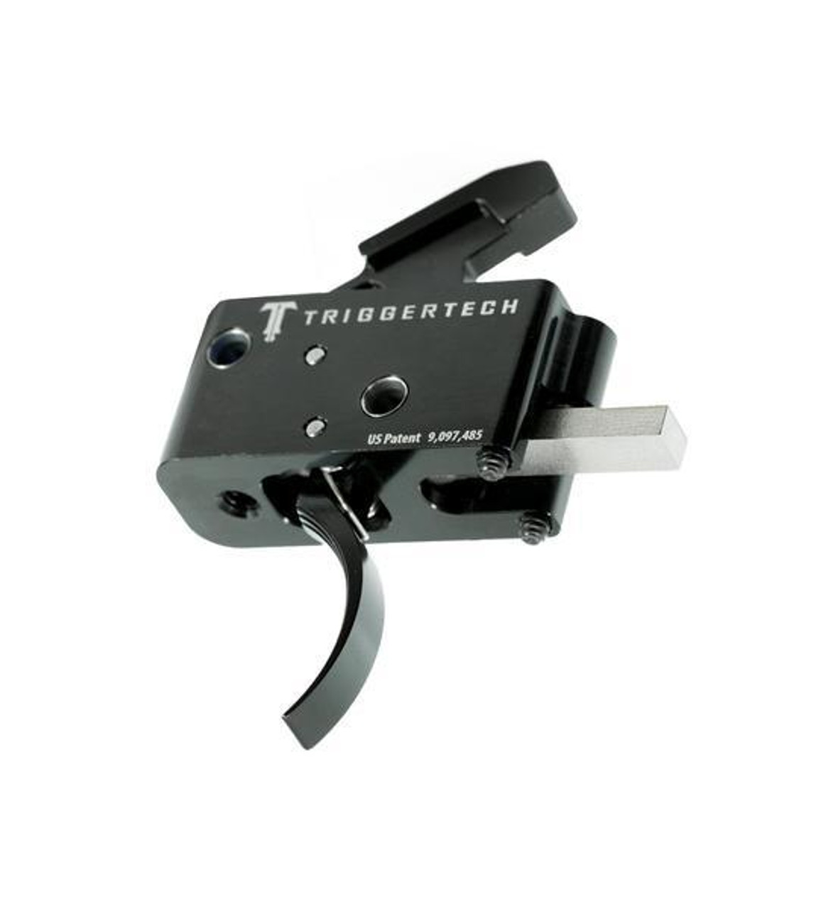 TriggerTech Adaptable AR Primary Trigger - Curved / Black PVD