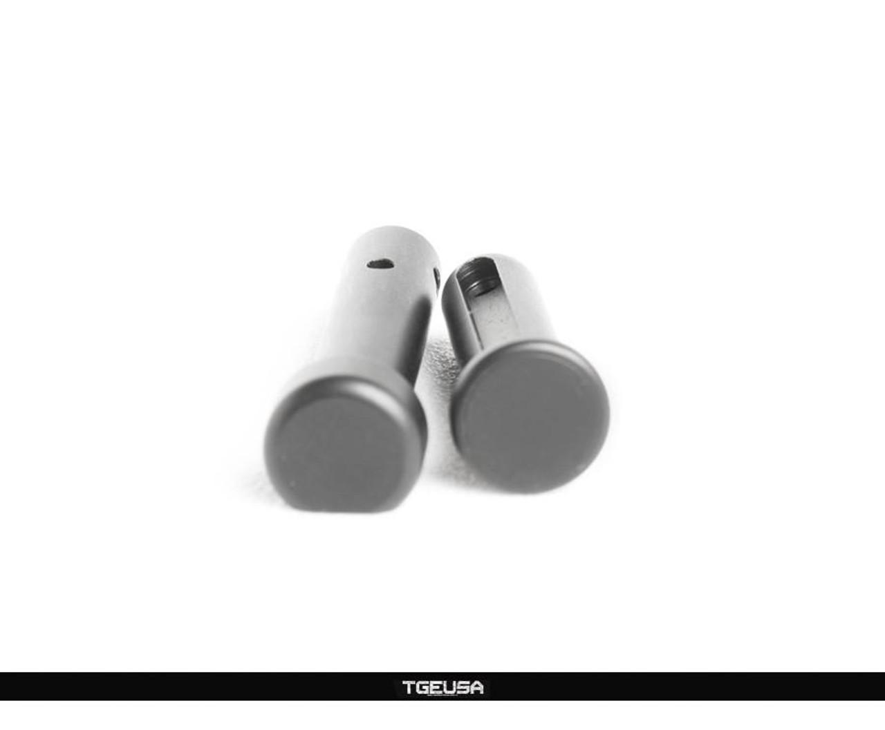 V SEVEN Titanium Pivot Takedown Pin Set - AR15 / Black Ion Bond