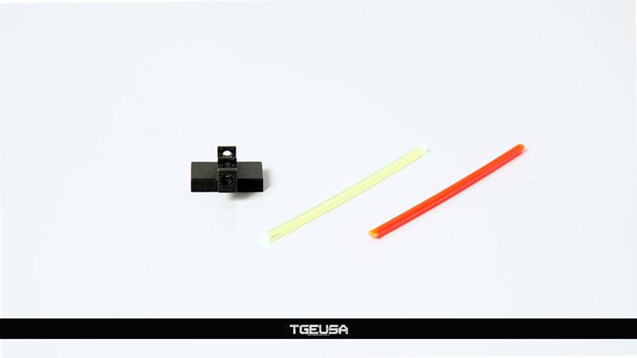 "10-8 Performance HK Fiber Optic Front Sight - .125"" wide"
