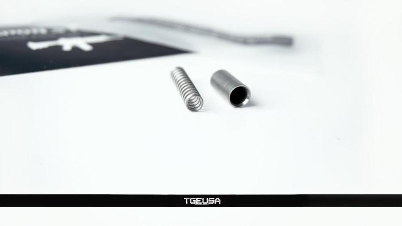 V SEVEN Lightweight Titanium Buffer Retainer & Spring