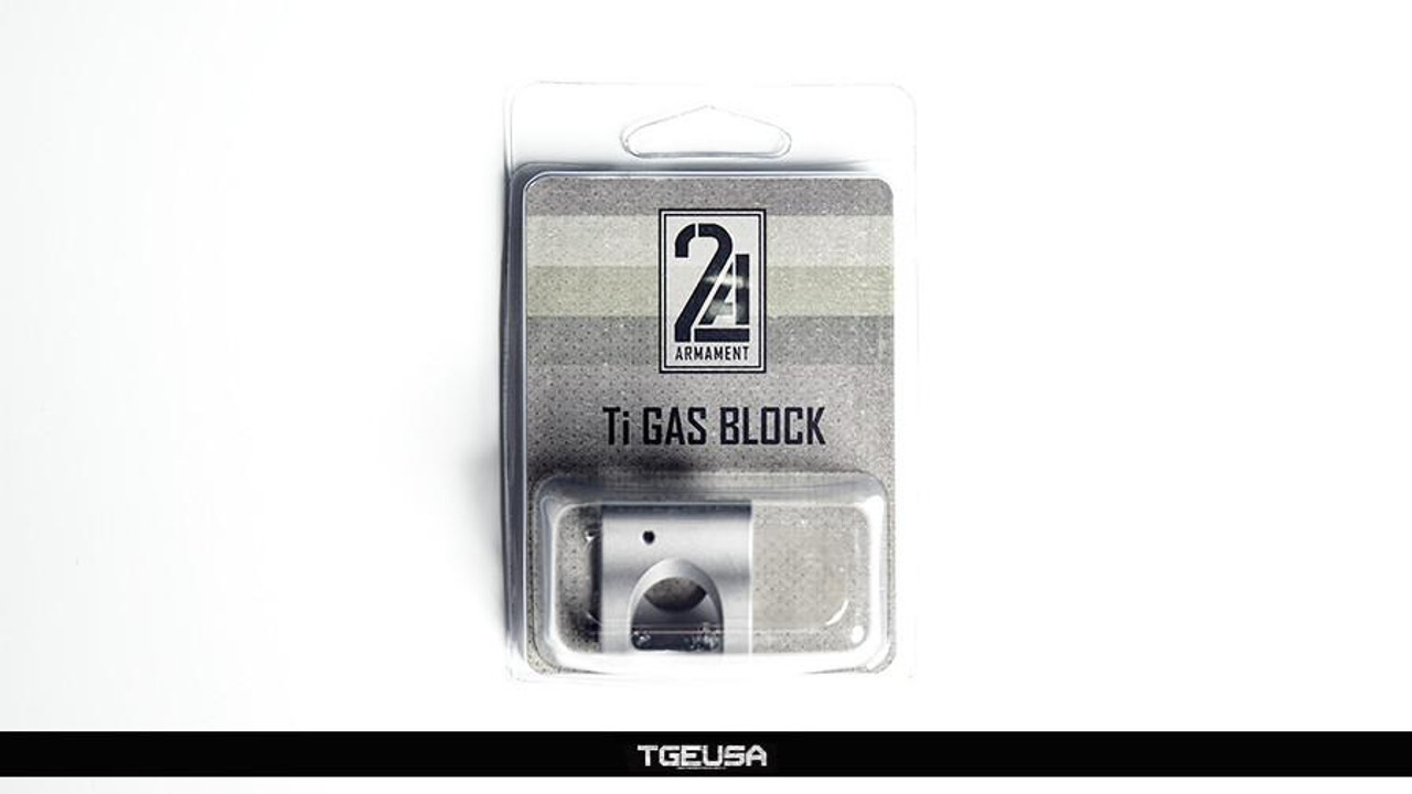 "2A Armament Ti Gas Block - AR .750"" Diameter"