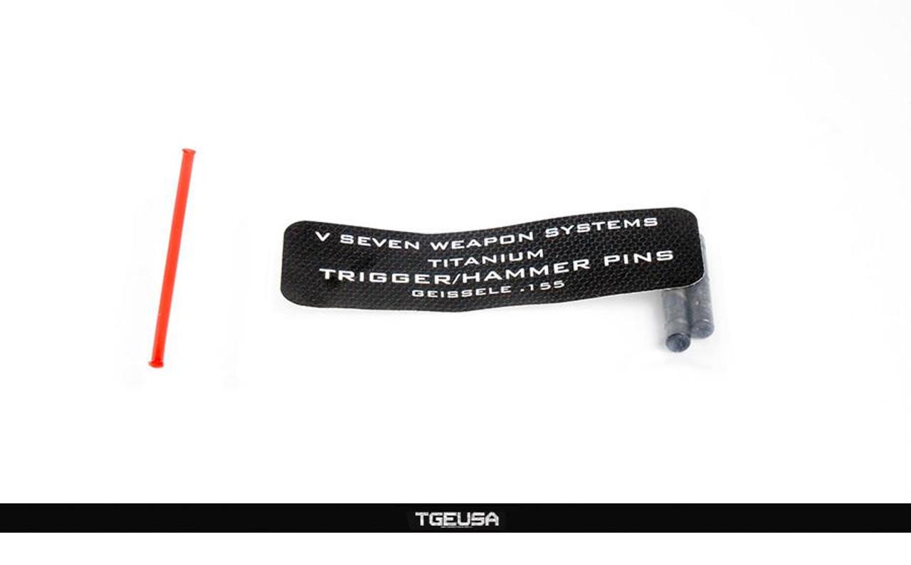 V Seven AR Titanium Trigger / Hammer Pins - .154