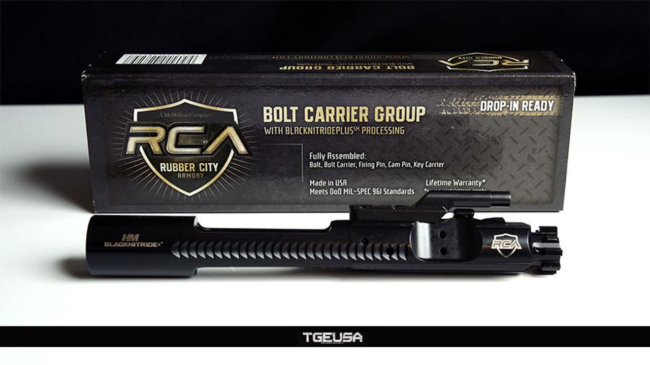 Rubber City Armory Standard Complete M16 Bolt Carrier Group - 5.56 / .223