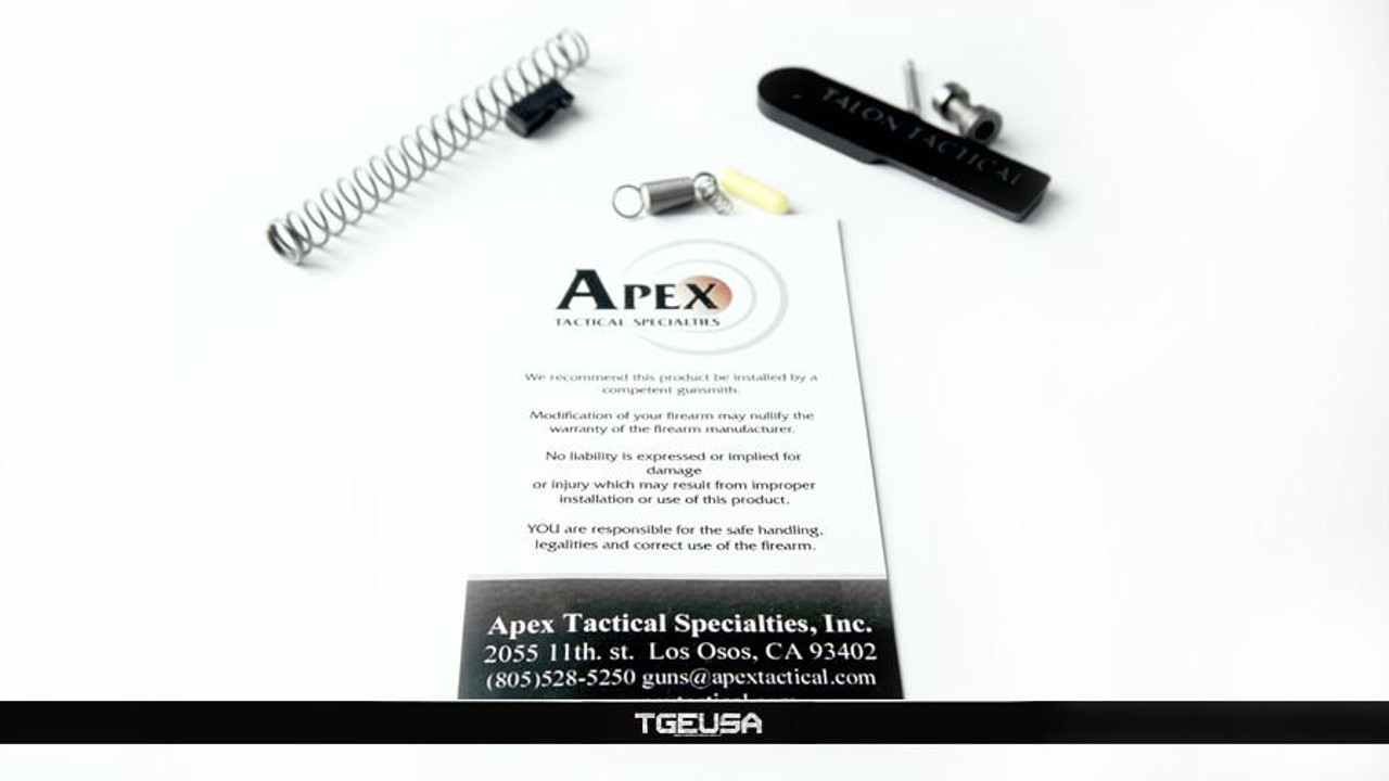 Apex Tactical M&P 9/40 Competition Action Enhancement Kit