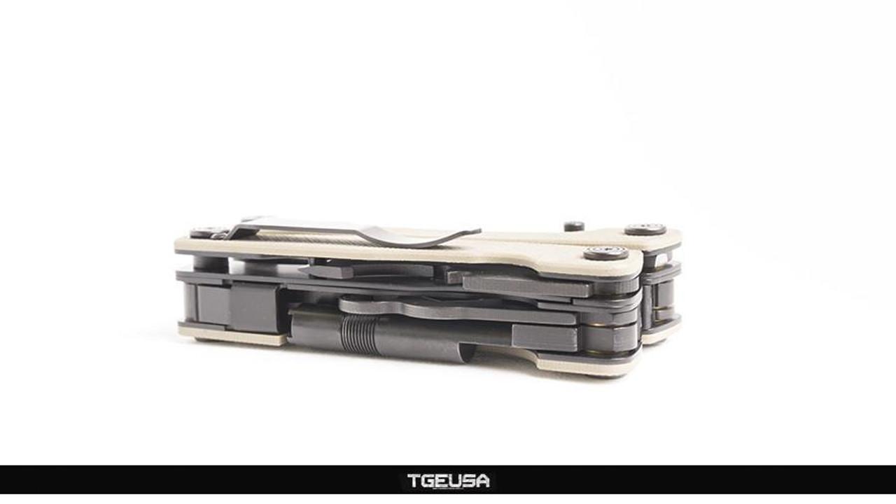 Multitasker Series 3X - Plain Edge / TAN G10