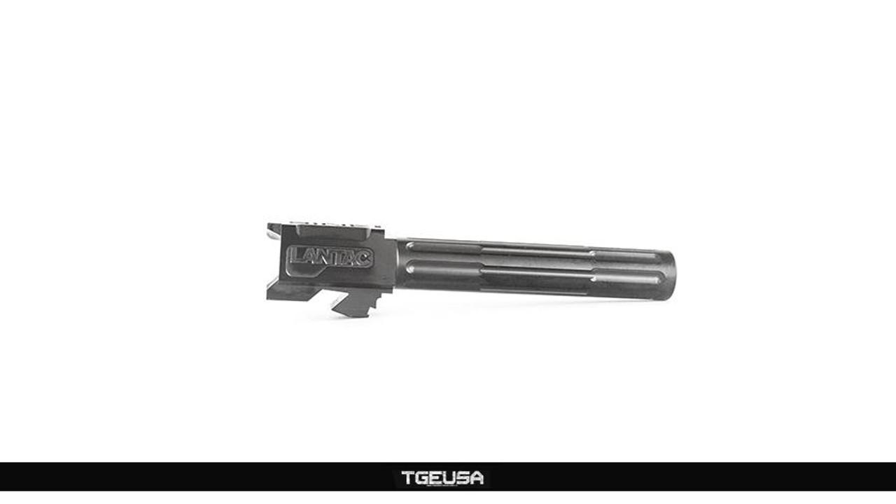 Lantac 9INE G17 Glock Barrel - 9MM / Black