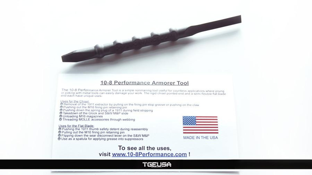10-8 Performance Armorer Tool - Black