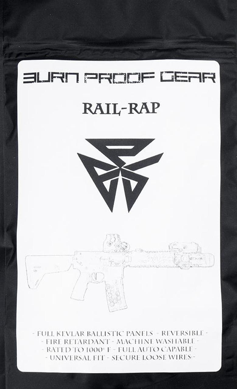 Burn Proof Gear - Rail Rap / Black