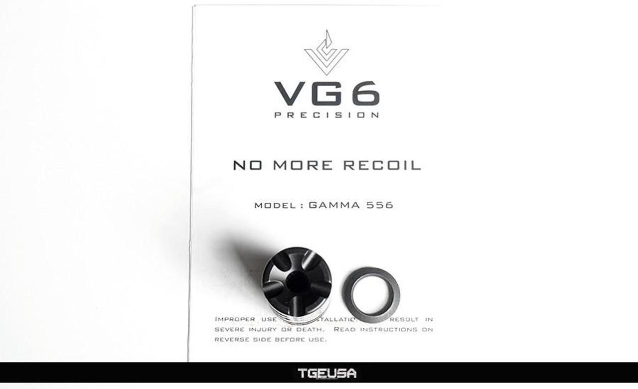 VG6 Precision GAMMA 556 Muzzle Brake - AR 5.56mm