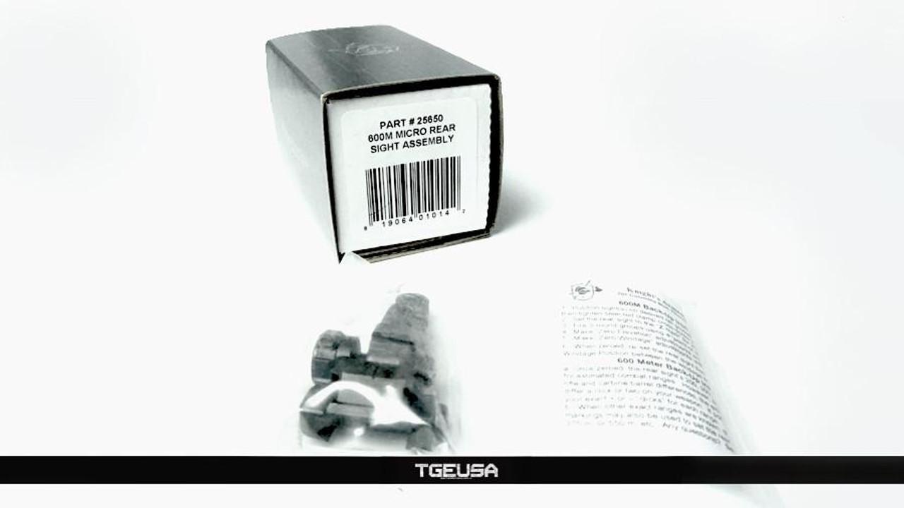 KAC Folding Micro Rear Sight (200-600M Adjustable)