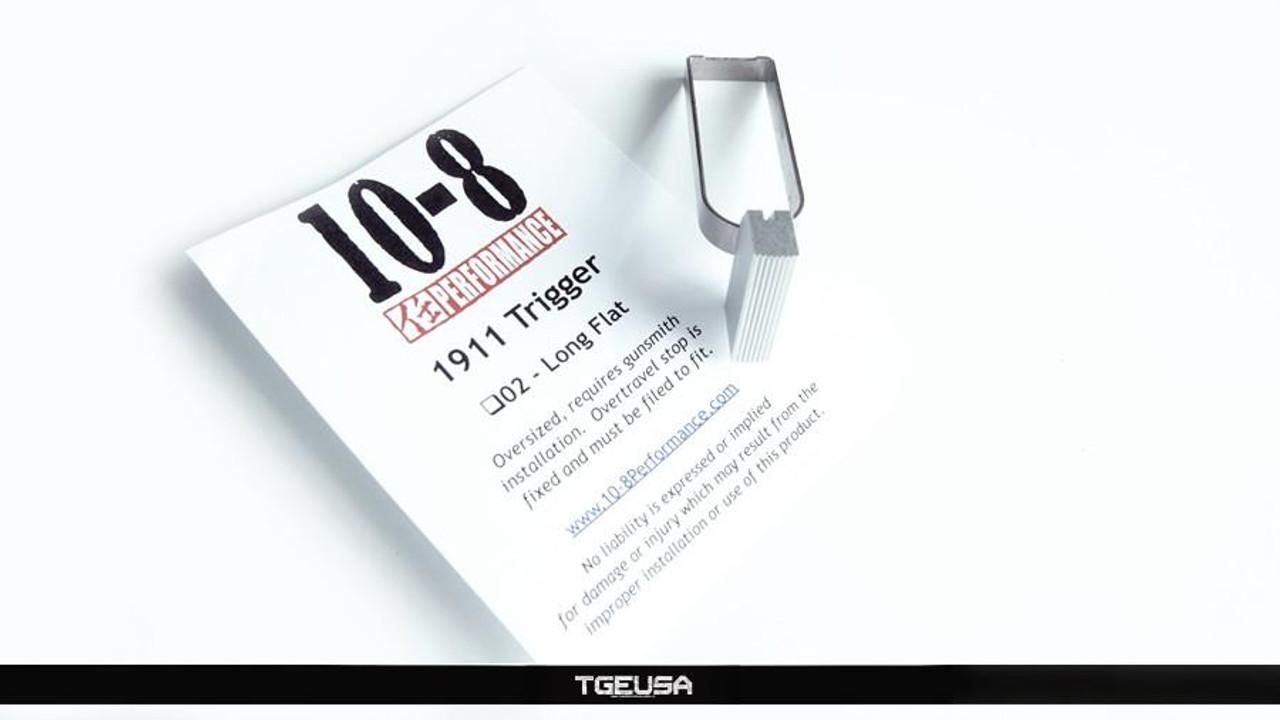 10-8 Performance 1911 Flat Trigger