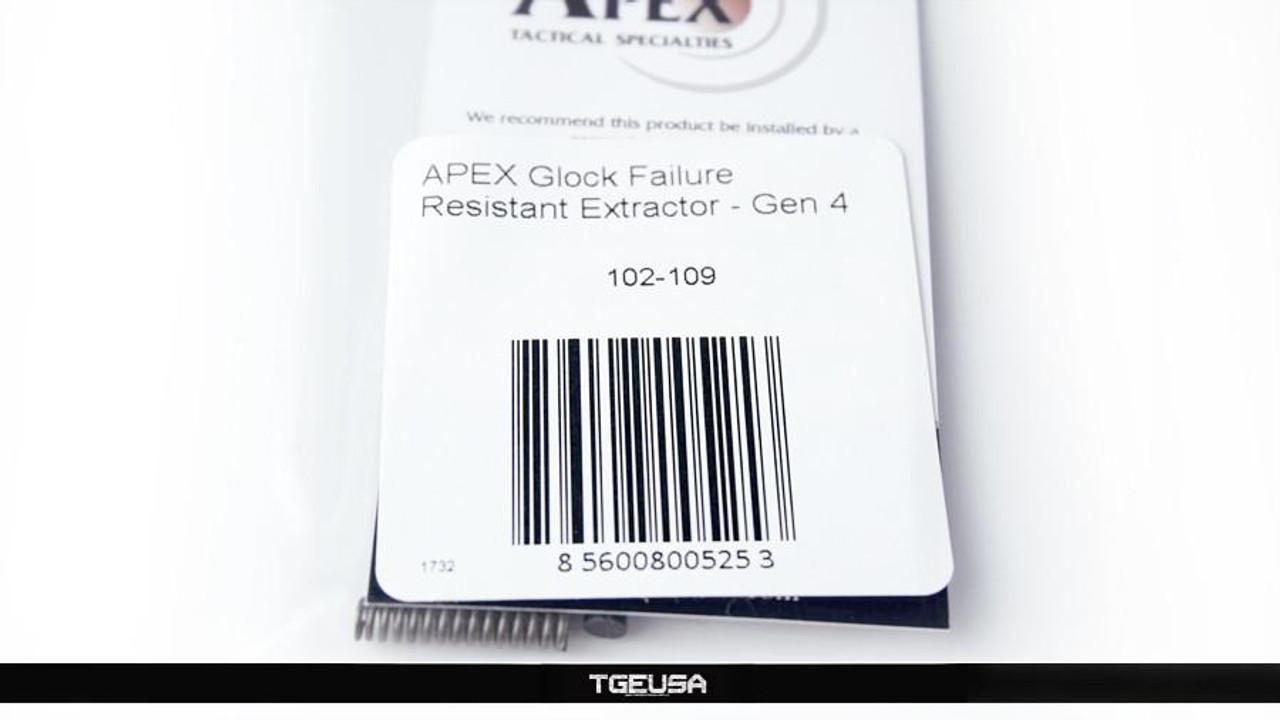 Apex Tactical Failure Resistant Extractor - Glock Gen 4 (9mm)
