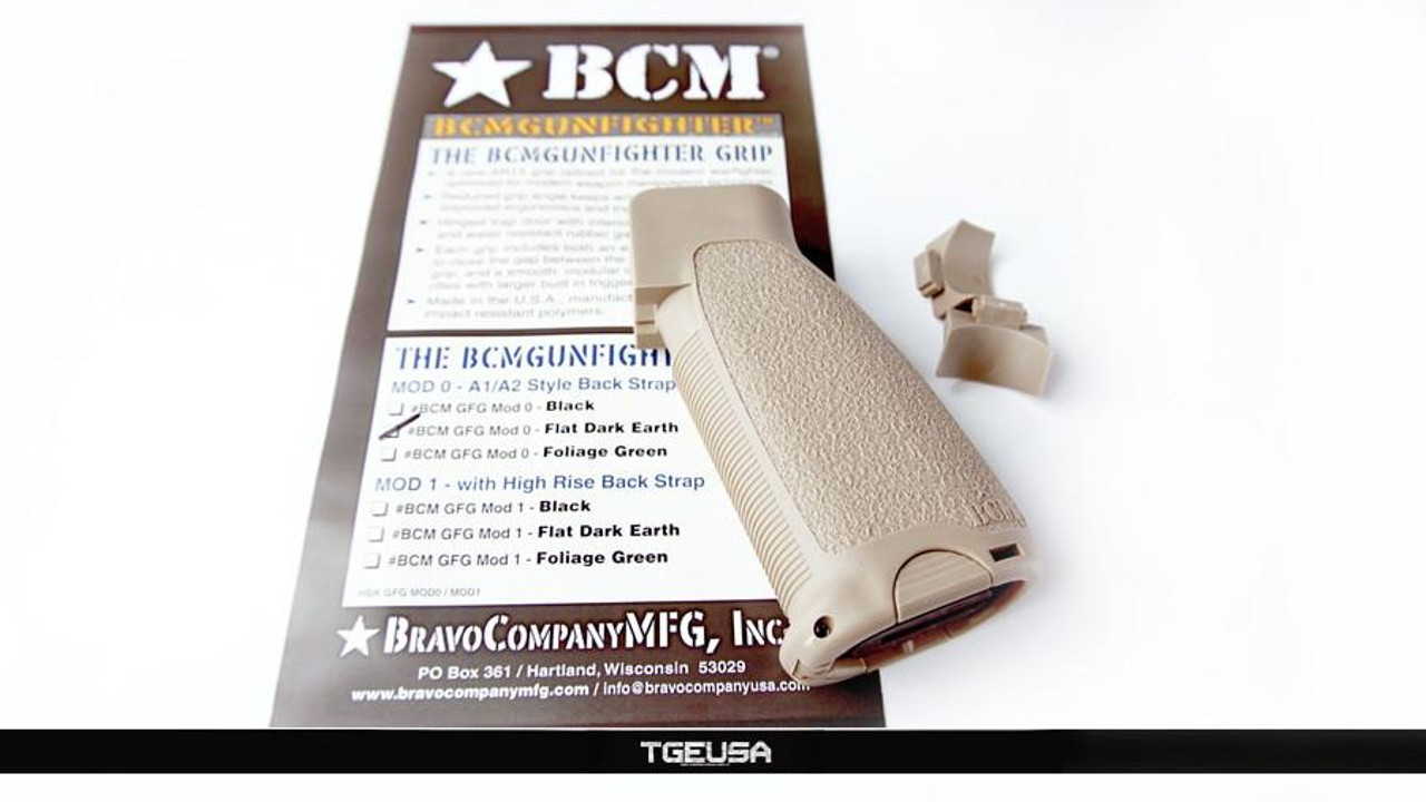 BCM Gunfighter Pistol Grip - MOD 0 (FDE)