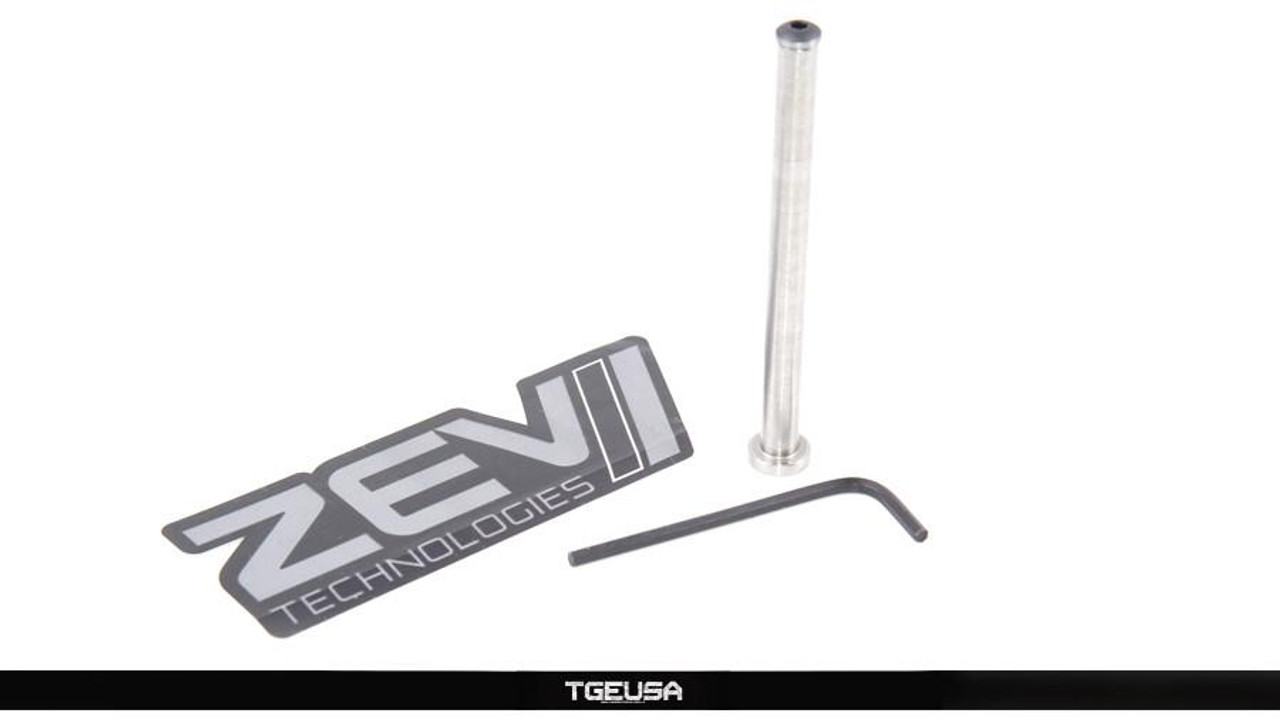 Zev Stainless Steel Guide Rod - Standard Frame Glocks (G17 / G22 / G34 / G35)