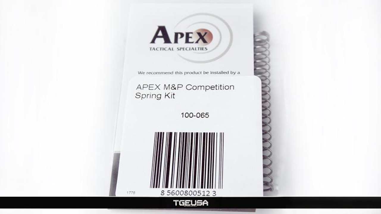 Apex Tactical M&P Competition Spring Kit