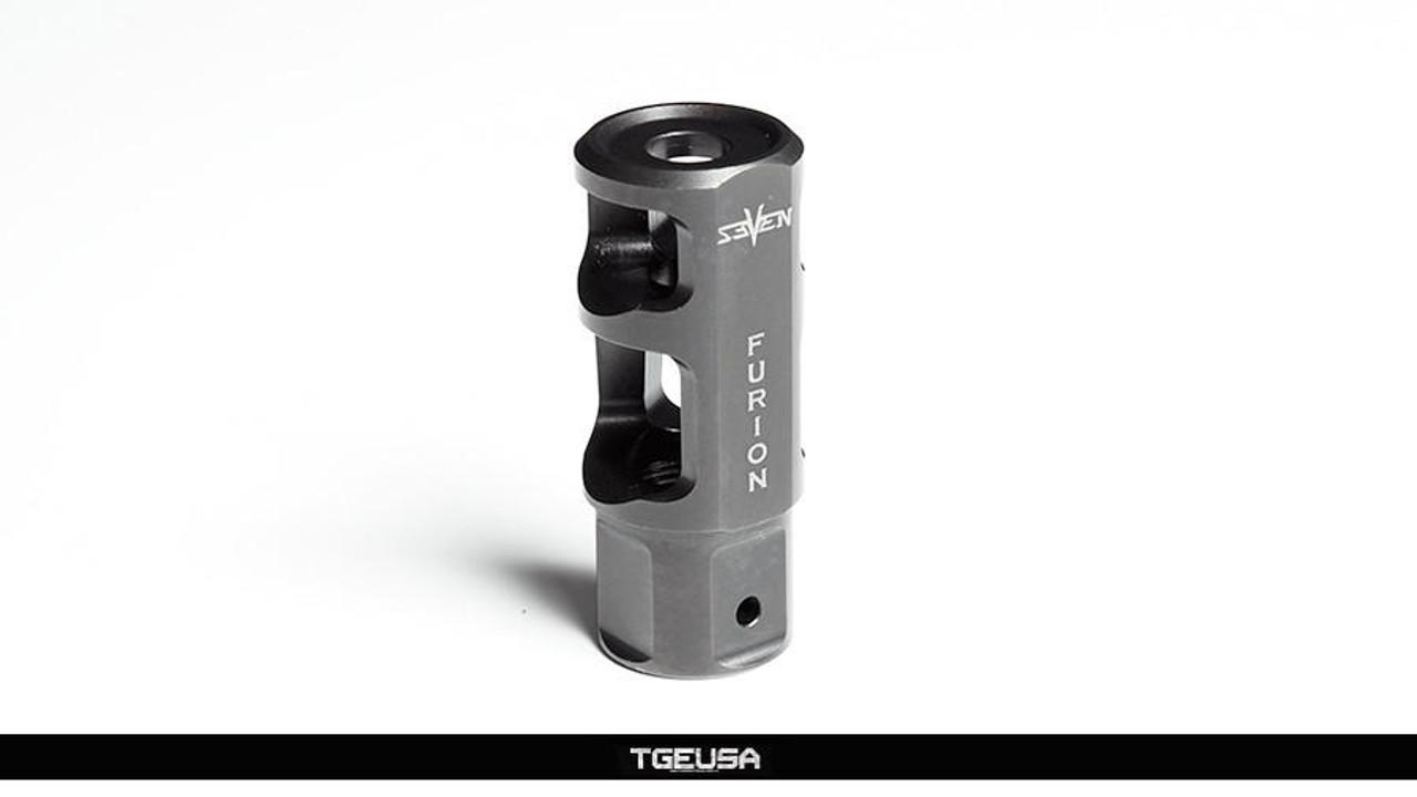 V SEVEN Weapon Systems Furion Muzzle Brake - 7.62 (Black)
