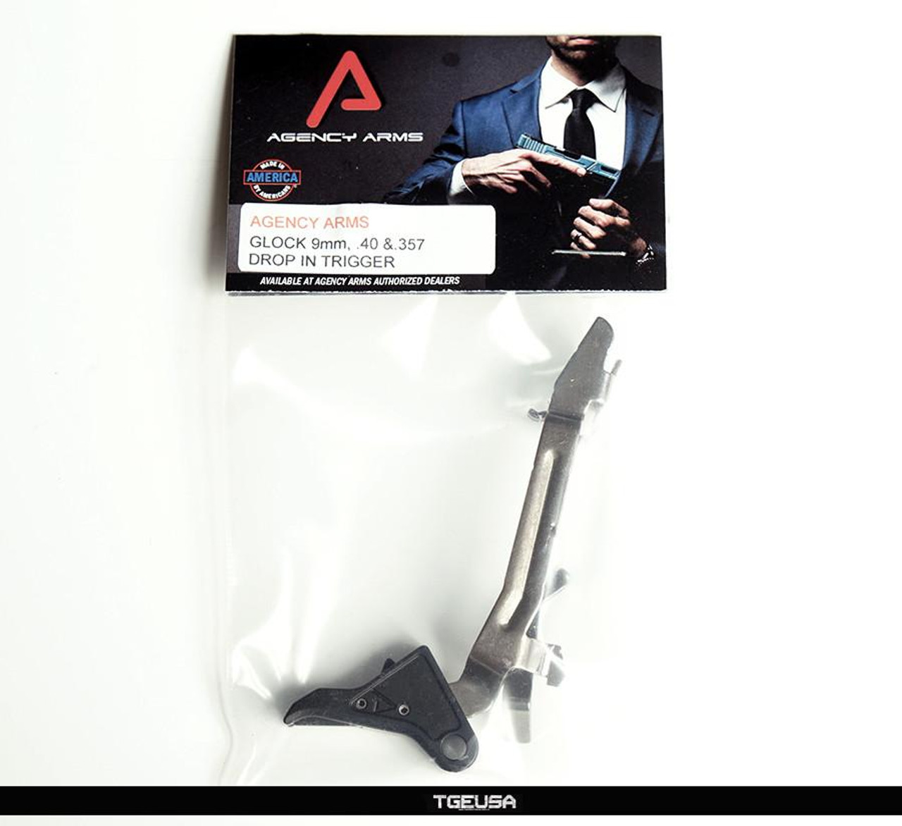 Agency Arms Drop in Trigger - Black  (Glock 9mm / .40 / and .357)