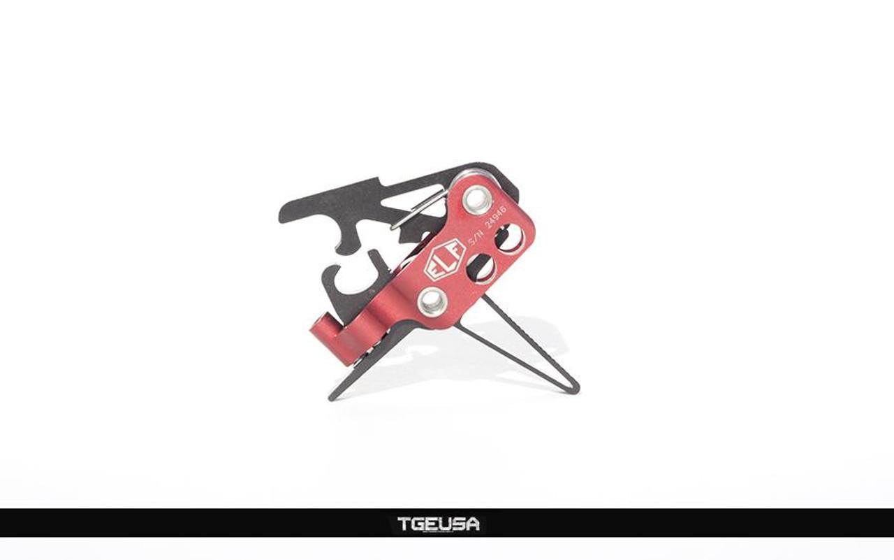 Elftmann ELF 3-GUN AR Trigger - Adjustable / Flat