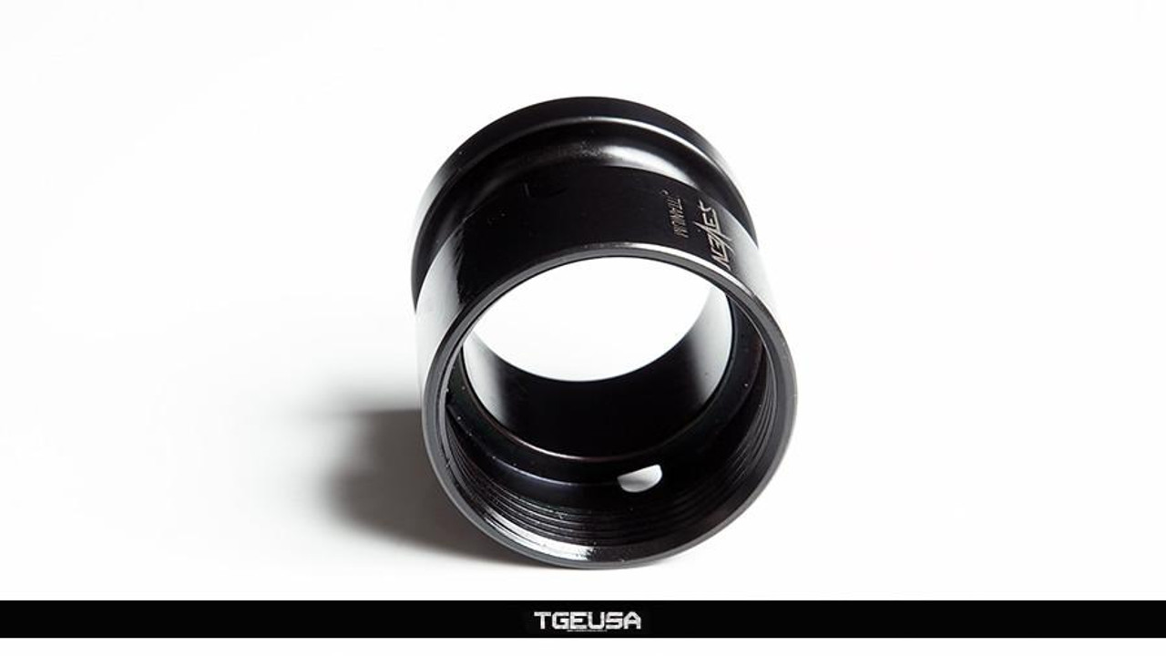 V SEVEN Titanium KMR Barrel Nut & Clamp Block Set - Ion Bond Black