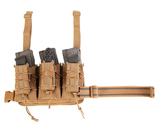 HSGI Double Decker Leg Rig - (Coyote Brown)