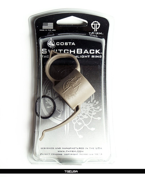 Thyrm Switchback Flashlight Ring - Large / Flat Dark Earth