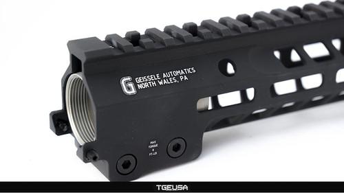 Geissele Super Modular Rail MK14 M-LOK Rail - Black