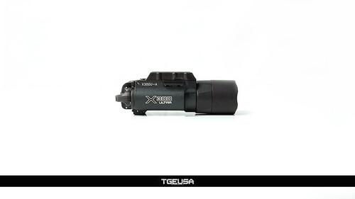 Surefire X300-A Ultra 600 Lumen Weapon Light - Black