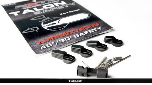 AXTS Talon Ambi Safety 4 Lever Set - Black AR platform
