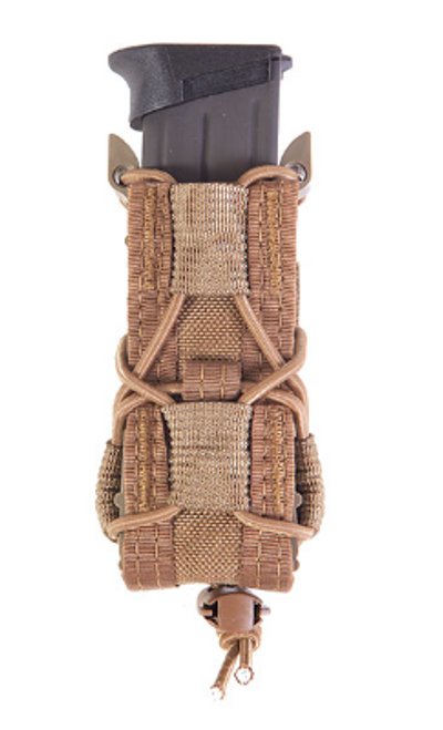 HSGI Belt Mounted Pistol Taco - (Coyote Brown)