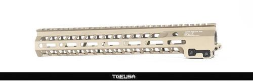 Geissele Super Modular Rail MK14 M-LOK Rail - Desert Dirt Color (DDC)
