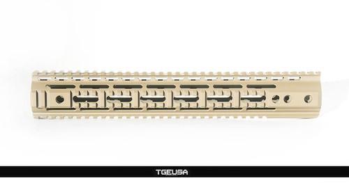 """SMOS Arms SMR Quad Rail - 13.6"""" / Magpul FDE"""