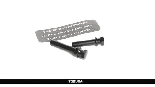 V SEVEN Aluminum Ultra Light Easy Pull Takedown/Pivot Pin Set - AR15