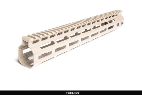 "SMOS Arms GFY M-Lok Rail - 13.6"" / Magpul FDE"