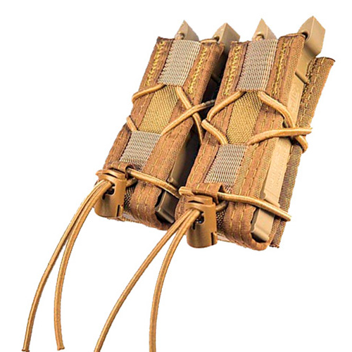 HSGI Double Pistol Taco - MOLLE (Coyote Brown)