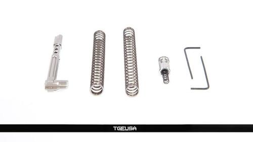 Zev Technologies Fulcrum Ultimate Trigger - Glock Gen 1-3 9mm (Black / Red)