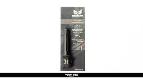 S3FSolutions Glock 19 Match Grade Barrel - Black Nitride / FLUTED