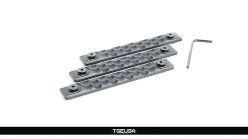 RailScales HTP M-LOK Scales - 3 Pack / Honeycomb / Black