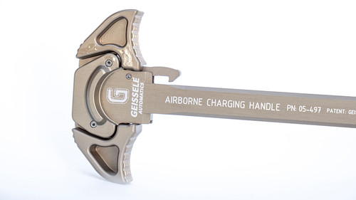Geissele Airborne AR15 Charging Handle (ACH) - Desert Dirt Color (DDC)