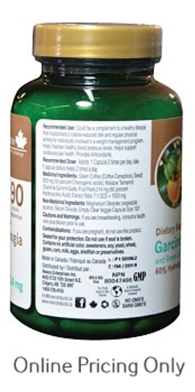 Newco Garcinia Cambogia Plus Green Coffee Bean 90vcaps At