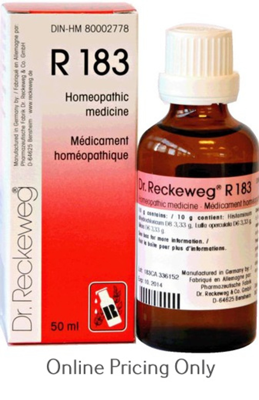 Dr Reckeweg #183 50ml